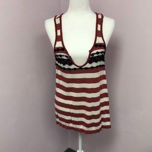Chelsea & Violet XS Tank Top w/crochet details